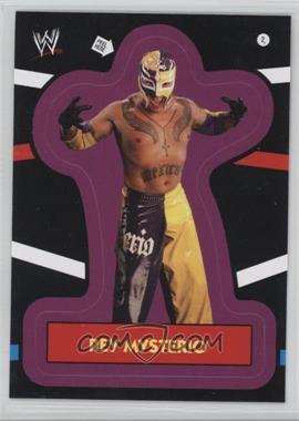 2012 Topps Heritage WWE Stickers #2 - Rey Mysterio
