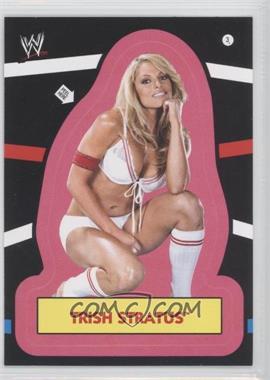 2012 Topps Heritage WWE Stickers #3 - Trish Stratus