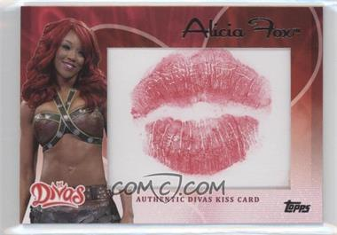 2012 Topps WWE - Divas Kiss Card #ALFO - Alicia Fox