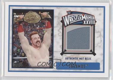 2012 Topps WWE - Wrestlemania XXVIII Mat Relics #SH - Sheamus