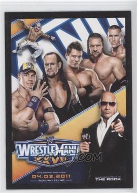 2012 Topps WWE [???] #1 - Wrestlemania XXVII