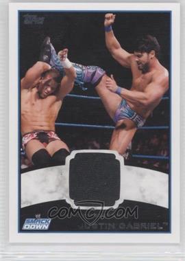 2012 Topps WWE [???] #N/A - Justin Gabriel