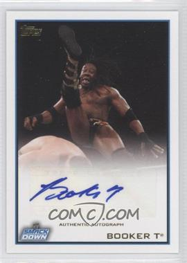 2012 Topps WWE Autographs #N/A - Booker T