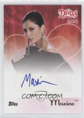 2012 Topps WWE Divas Class of 2012 Autographs [Autographed] #N/A - Maxine