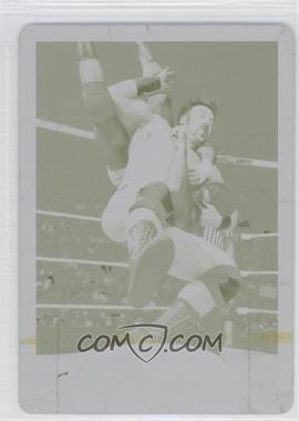 2012 Topps WWE Printing Plate Yellow #4 - Sheamus /1