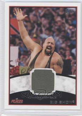 2012 Topps WWE Shirt Relics #BISH - Big Show