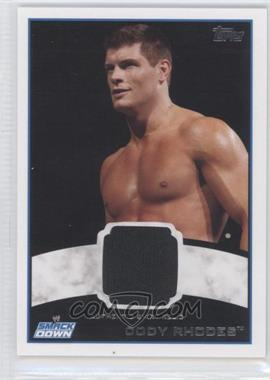 2012 Topps WWE Shirt Relics #CORH - Cody Rhodes