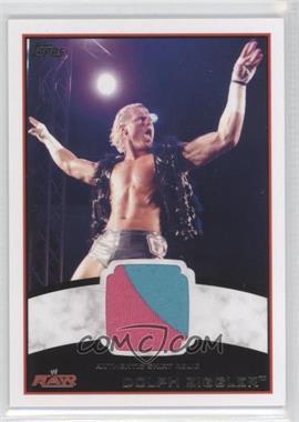 2012 Topps WWE Shirt Relics #DOZI - Dolph Ziggler