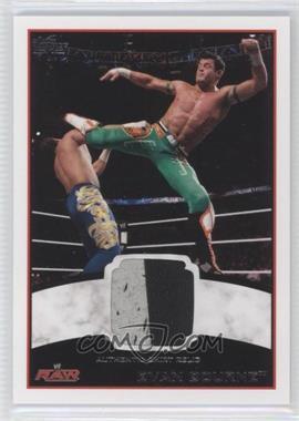 2012 Topps WWE Shirt Relics #EVBO - Evan Bourne