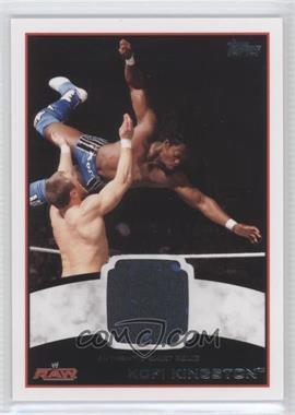 2012 Topps WWE Shirt Relics #KOKI - Kofi Kingston