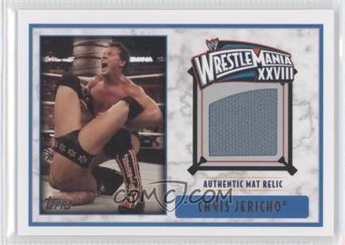 2012 Topps WWE Wrestlemania XXVIII Mat Relics #CHJE - Chris Jericho