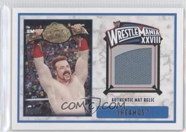 2012 Topps WWE Wrestlemania XXVIII Mat Relics #SH - Sheamus