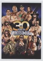30 Years of Wrestlemania (John Cena, Triple H, Undertaker, The Rock, Steve Aust…