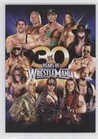 30 Years of Wrestlemania (John Cena, Triple H, Undertaker, The Rock, Steve Aust…