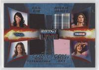 Gail Kim, Mickie James, Miss Tessmacher, Velvet Sky /199