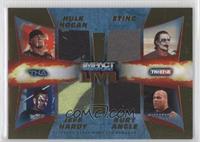 Hulk Hogan, Sting, Jeff Hardy, Kurt Angle /50