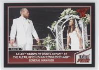 AJ Lee stands up Daniel Bryan at the altar, gets named permanent RAW general ma…