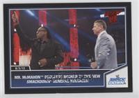 Vince McMahon, Booker T.