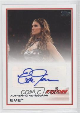 2013 Topps WWE Authentic Autograph #N/A - Eve Torres