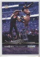 Defeats Triple H in a no holds barred match (Undertaker)