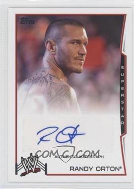 2014 Topps WWE Autographs #RAOR - Randy Orton