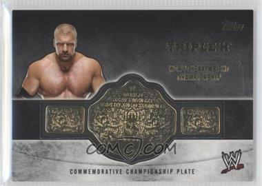 2014 Topps WWE Commemorative Plate #TRH - Triple H