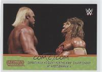 Defeats Hulk Hogan for the WWE Championship at Wrestlemania 6