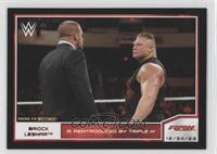 Brock Lesnar, Triple H