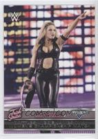 Trish Stratus Battles Mickie James in a Women's Championship Match (Trish Strat…