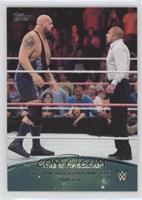 Big Show knocks out WWE COO Triple H