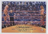 Shawn Michaels retires Ric Flair at Wrestlemania XXIV