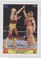 Faces Ultimate Warrior at Wrestlemanie VI