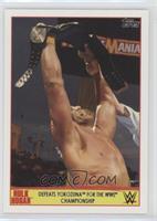 Defeats Yokozuna for the WWE Championship