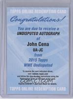 John Cena [REDEMPTIONBeingRedeemed]