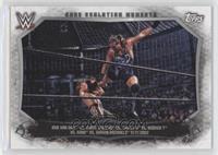 Rob Van Dam, Chris Jericho, Triple H, Booker T, Kane, Shawn Michaels