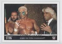 Sting Joins the Four Horsemen (Ric Flair, Barry Windham)