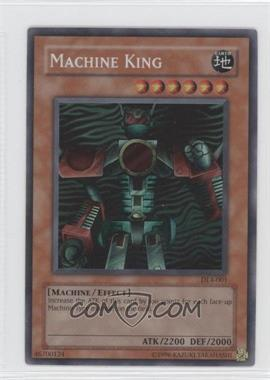 2002-2006 Yu-Gi-Oh! Upper Deck - Duelist League Promos #DL4-001 - Machine King