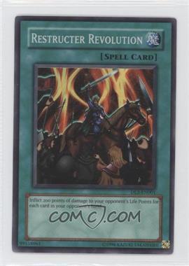 2002-2006 Yu-Gi-Oh! Upper Deck - Duelist League Promos #DL5-EN001 - Restructer Revolution