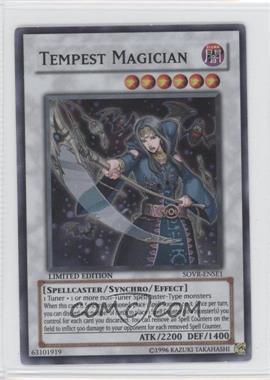 2002-Now Yu-Gi-Oh! Promos [???] #SOVR-ENSE1 - Tempest Magician