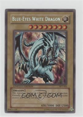 2002 Yu-Gi-Oh! Booster Pack Tins Series 1 - Limited Edition Promos #BPT-003 - Blue-Eyes White Dragon