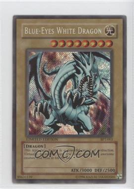 2002 Yu-Gi-Oh! Booster Pack Tins Series 1 Limited Edition Promos #BPT-003 - Blue-Eyes White Dragon