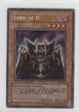 2002 Yu-Gi-Oh! Booster Pack Tins Series 1 Limited Edition Promos #BPT-004 - Lord of D.