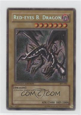 2002 Yu-Gi-Oh! Booster Pack Tins Series 1 Limited Edition Promos #BPT-005 - Red-Eyes B. Dragon