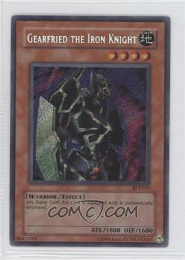 2002 Yu-Gi-Oh! Booster Pack Tins Series 2 - Limited Edition Promos #BPT-012 - Gearfried the Iron Knight