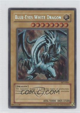 2002 Yu-Gi-Oh! Booster Pack Tins Series 2 Limited Edition Promos #BPT-0009 - Blue-Eyes White Dragon