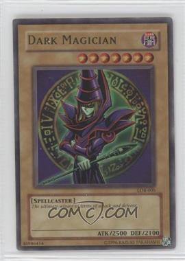 2002 Yu-Gi-Oh! Legend of Blue Eyes White Dragon Booster Pack [Base] Unlimited #LOB-005 - Dark Magician