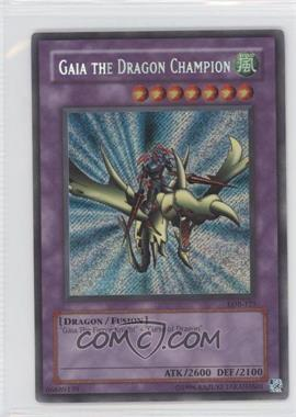 2002 Yu-Gi-Oh! Legend of Blue Eyes White Dragon Booster Pack [Base] Unlimited #LOB-125 - Gaia the Dragon Champion