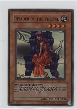 2002 Yu-Gi-Oh! Magic Ruler Booster Pack [Base] Unlimited #MRL-026 - Invader of the Throne