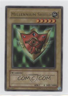 "2002 Yu-Gi-Oh! McDonald's Promotional Series 1 - Happy Meal ""Toy"" [Base] #MP1-001 - Millennium Shield"