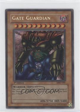 2002 Yu-Gi-Oh! Metal Raiders Booster Pack [Base] 1st Edition #MRD-00 - Gate Guardian
